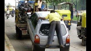 Bangalore  traffic police towing