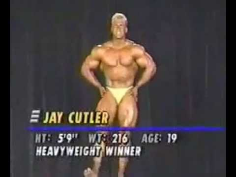 Jay Cutler and Branch Warren at 1993 Teen Nationals