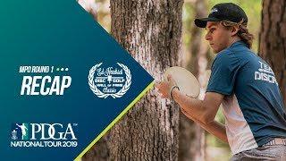 2019 Ed Headrick Disc Golf Hall of Fame Classic: MPO Round 1 Recap