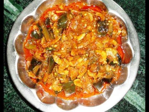 How to cook Dry prawns brinjal (Enduroyyalu vankaya kura)  in easy way