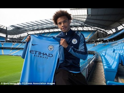 Leroy Sané (Welcome to Manchester City FC)