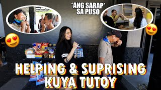 HELPING & SUPRISING KUYA TOY (WORTH TO WATCH) | ZEINAB HARAKE
