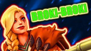 BROKI-BROKI GIRL | Tyra Competitive Gameplay | Paladins