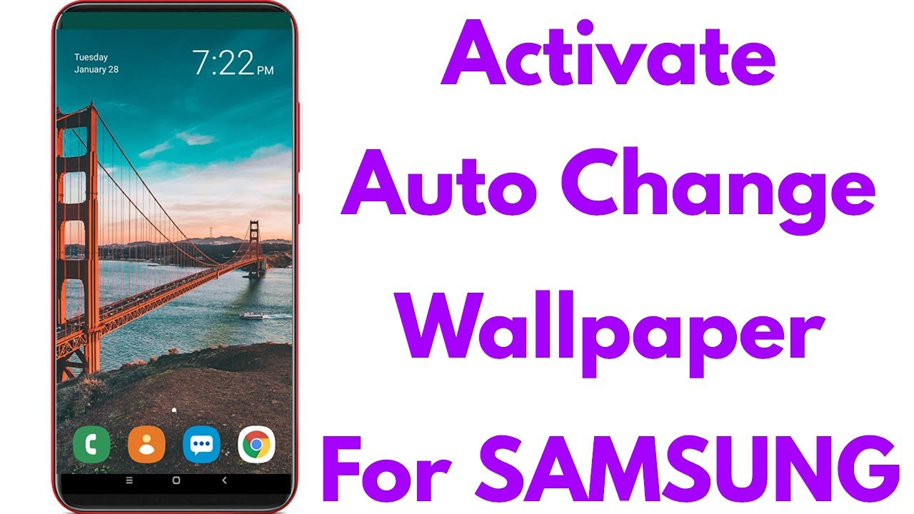 How To Set Auto Change Wallpaper In Samsung Mobile Turn Off This Feature If You Doesn T Like Youtube