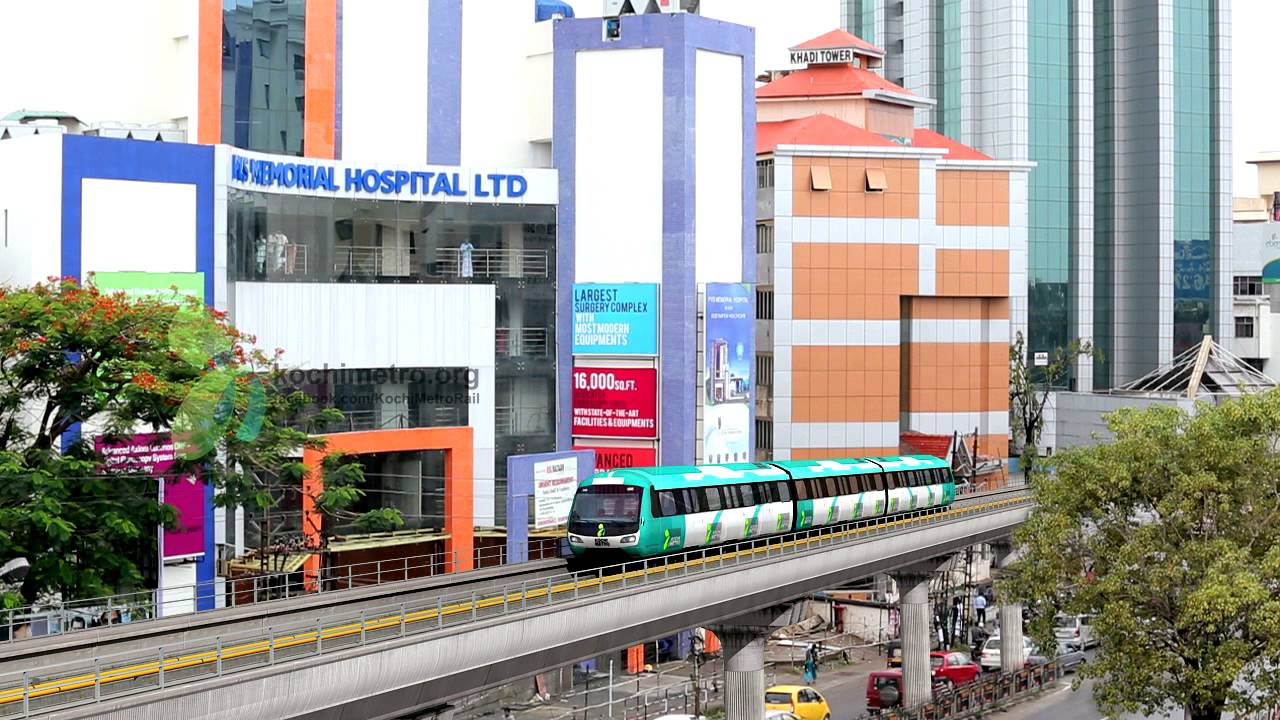Download KOCHI METRO RAIL ANIMATION by Live Space Media