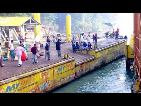 Rocket Paddle Steamer In Bangladesh