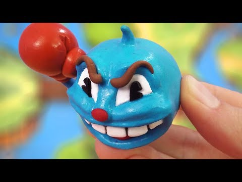 Making Goopy Le Grande Boss from Cuphead