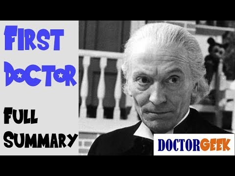 12 Doctors of Christmas: 1st Doctor - FULL SUMMARY