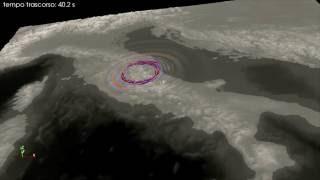 24.Agosto.2016 Animazione Terremoto Mw 6.0 Accumoli (Rieti)