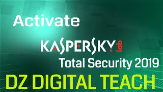 Activate Kaspersky Total Security 2019 with a valid License key (100% working )