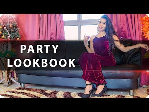 The Party Outfits Style Guide 2017-2018 | Party Lookbook | New Year Outfits