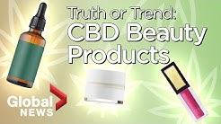 CBD beauty products: What you need to know