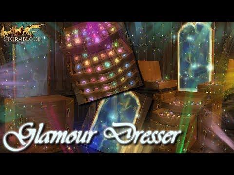 FFXIV: 4.2: Glamour Dresser - Basic Workings