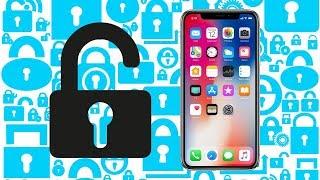 How To Unlock iPhone X !
