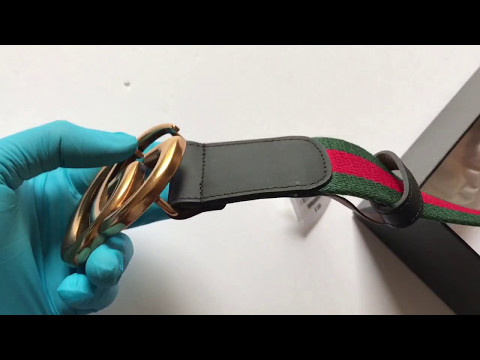 gucci-black-leather-green/red-cotton-double-g-buckle-belt
