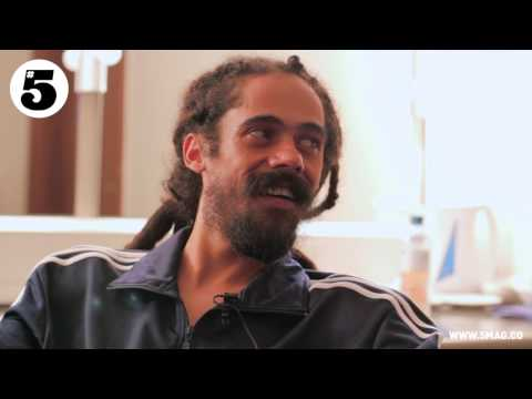 Damian Marley Interview with #5 Magazine's Dan Edwards