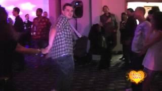 Richard Harris & Tanja La Alemana social dancing