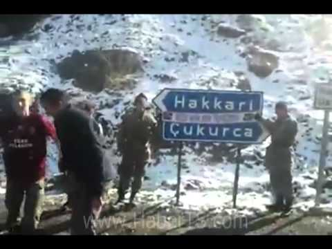 hakkari çukurca askerlerden horon show