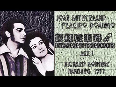 J. Sutherland, P. Domingo - Lucia perdona... Verranno a te sull'aure (Hamburg 1971)