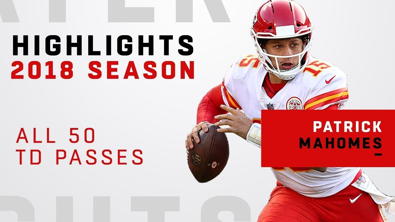 b1e89f9db All 50 TD Passes by Patrick Mahomes in 2018! - YouTube