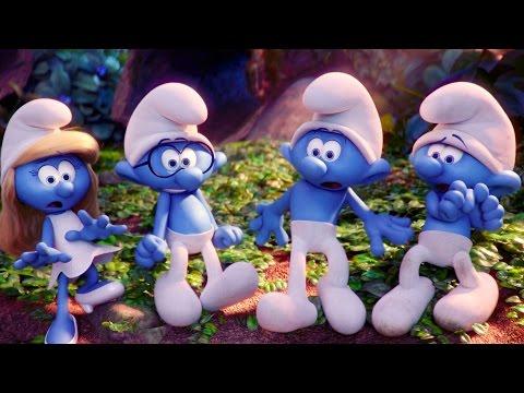 Смурфики 3 мультфильм затерянная деревня
