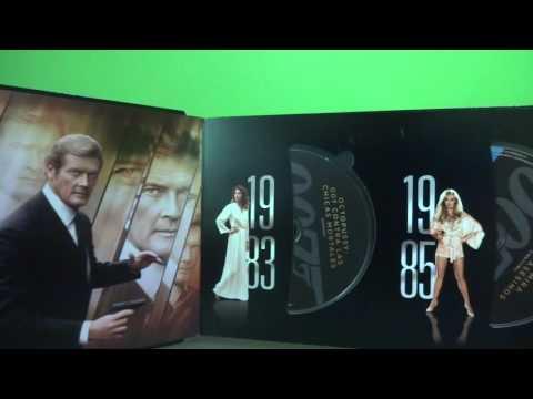 Bond 50 Anniversary Blu ray Unboxing en...