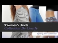9 Women'S Shorts Collection By Comfy Spring 2017 Collection
