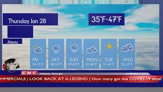 Weather forecast atlanta, georgia ▶ atlanta and local news 01/28/2021