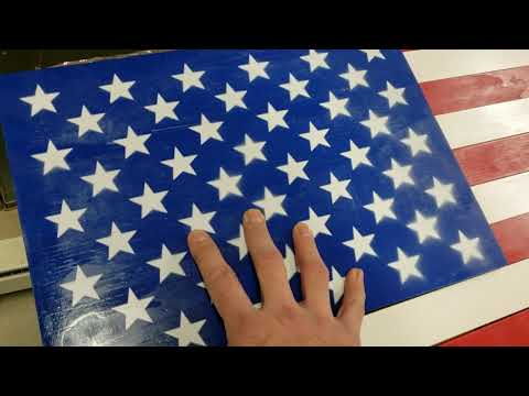 Wooden flag diy .. do and don'ts
