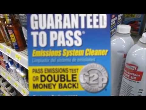Best Fuel Injector Cleaner CRC Pass Smog Emissions California test procedure tips