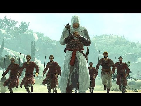 Assassin's Creed 1 Altair` s Perfect  Rampage In Jerusalem Part 2