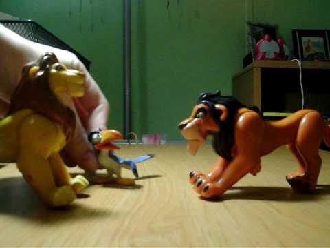 V Mouse Eating Scene LION KING scene 2- sca...