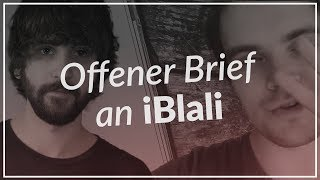 Offener Brief an iBlali!