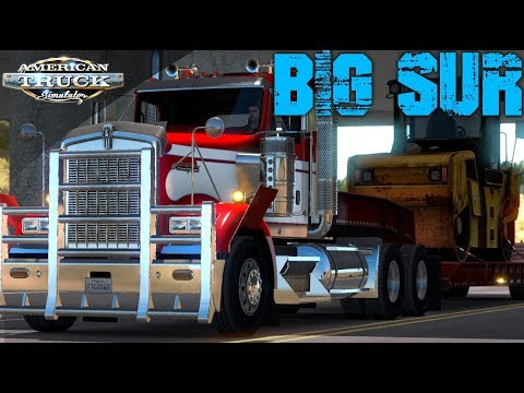 ROAD CONSTRUCTION TO OPERATION BIG SUR | AMERICAN TRUCK SIMULATOR ONLINE