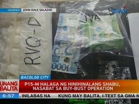 UB: P15-M halaga ng hinihinalang shabu, nasabay sa buy-busy operation