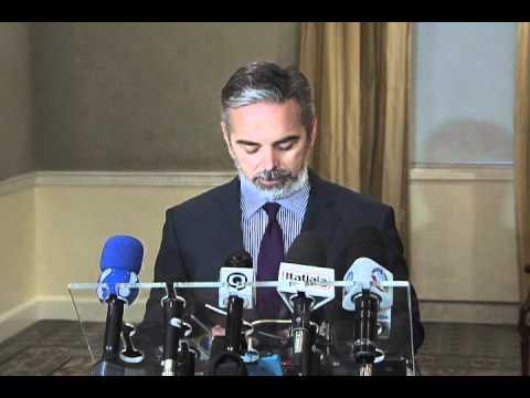 Entrevista do ministro Antonio Patriota em NY