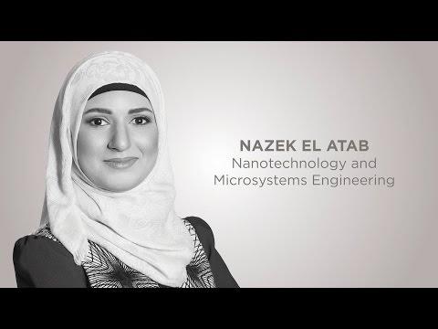 NAZEK EL ATAB | Nanotechnology and Microsystems Engineering