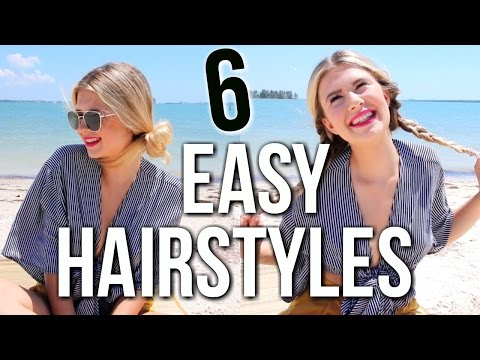 Easy Hairstyles for the Beach | Pool and Lake