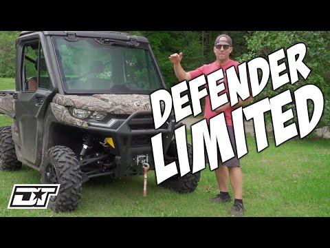 Can Am DEFENDER LIMITED UTV Detailed Overview