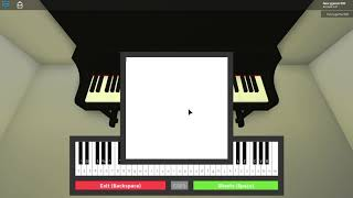 Playing BTS songs on roblox piano (notes in desc)