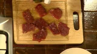 Салат с говядиной в тайском стиле