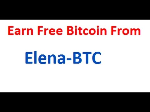 How To Make 300 Satoshi Every 5 Minutes With Elena Faucet In Urdu/Hindi