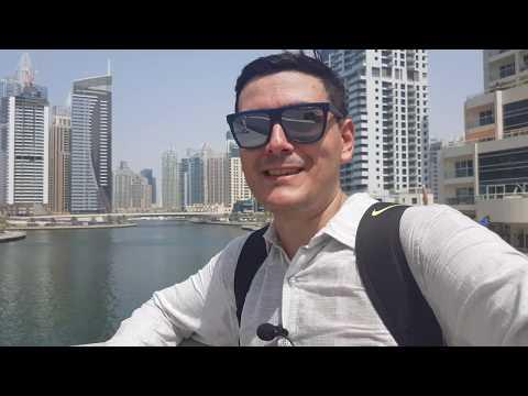Dubai – Emirados Árabes Unidos (Dia 01 – trip 2019) – Dubai Marina e JBR Beach