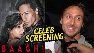 Celebs At Baaghi Special Screening At YRF | Tiger Shroff, Shraddha Kapoor