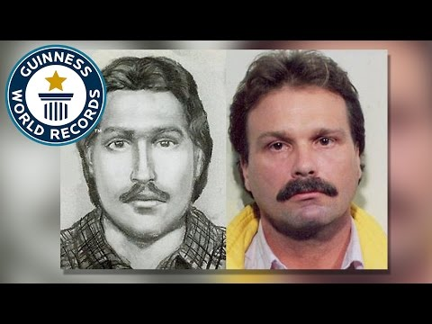 Forensic artist helps catch over 1000 criminals - Guinness World Records