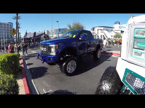 The new Ford Bronco at SEMA 2019!!! (or is it?)
