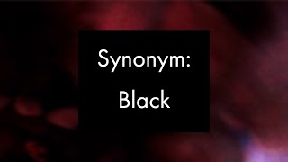 Synonym: Black, Experimental Video Art and Music by Collin Thomas