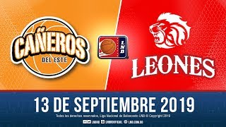 LNBRD Tv3 Live Stream Cañeros Vs Leones . Sept 13 2019