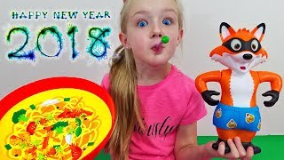 New Year 2018 Family Game Night! Testing Out New Games!!!