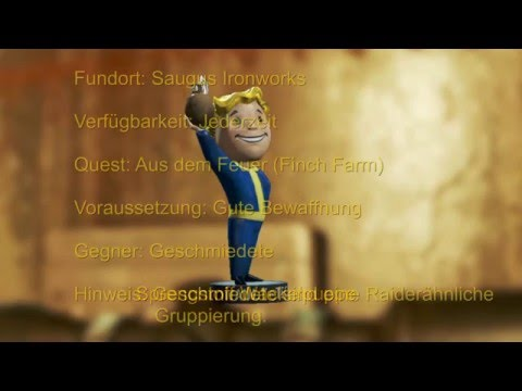 Fallout 4 Sprengstoff Wackelpuppe - Saugus Ironworks